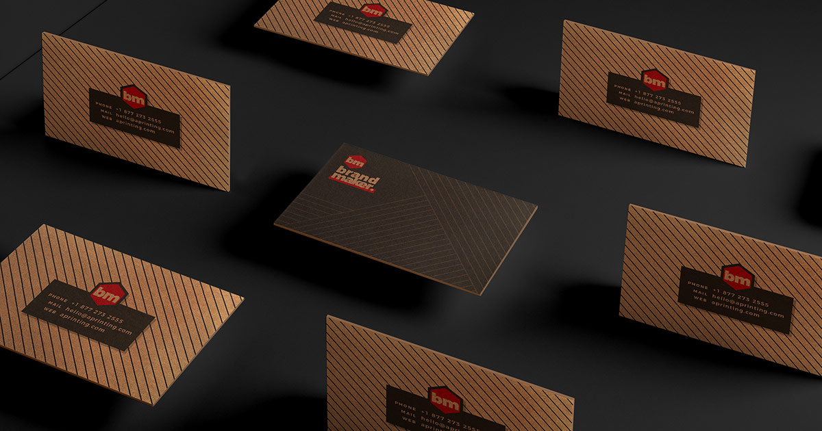 How to create kraft business cards?