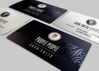 Top 02 - Spot UV Business Cards